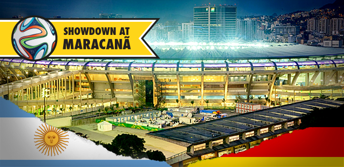 Showdown at Maracanã – Who will lift the FIFA World Cup Trophy 2014?