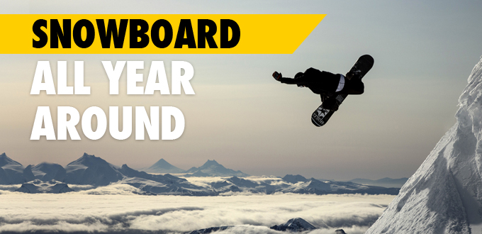 Where to (Snow)board All Year Around