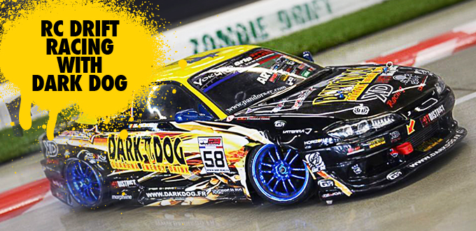R/C Drift Racing with DARK DOG