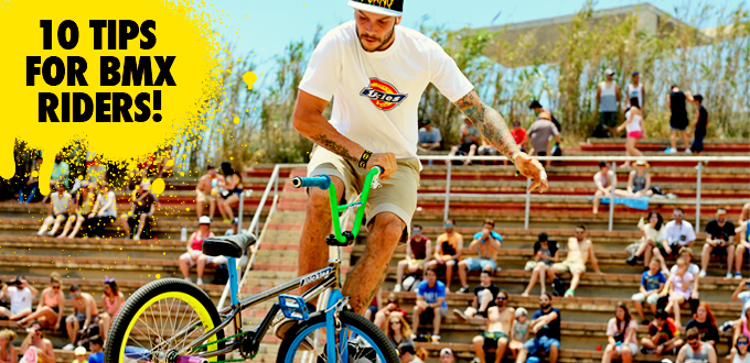 10 tips for practicing BMX without getting injured